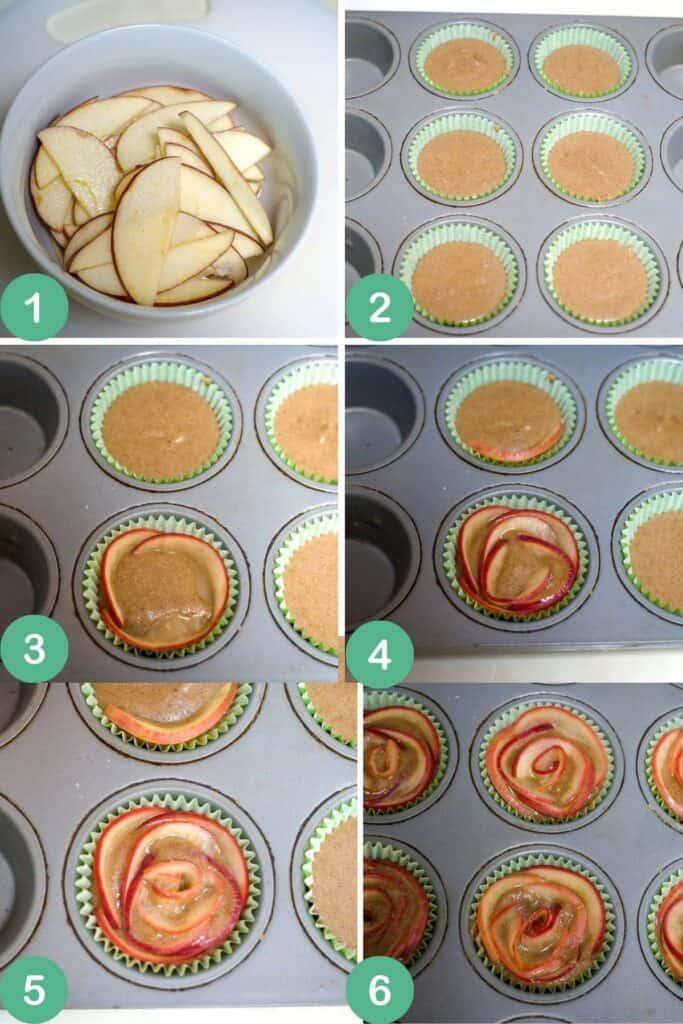 apple rose process