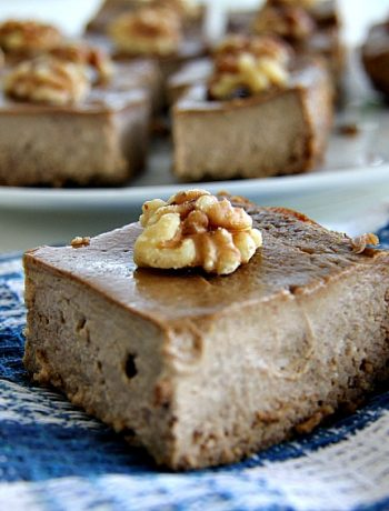 walnut coffee brownie with coconut flour