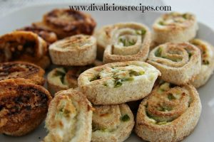 Cream Cheese Jalapeno Pinwheels - Divalicious Recipes