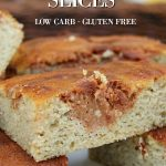 low carb cinnamon slices