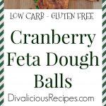 cranberry dough balls
