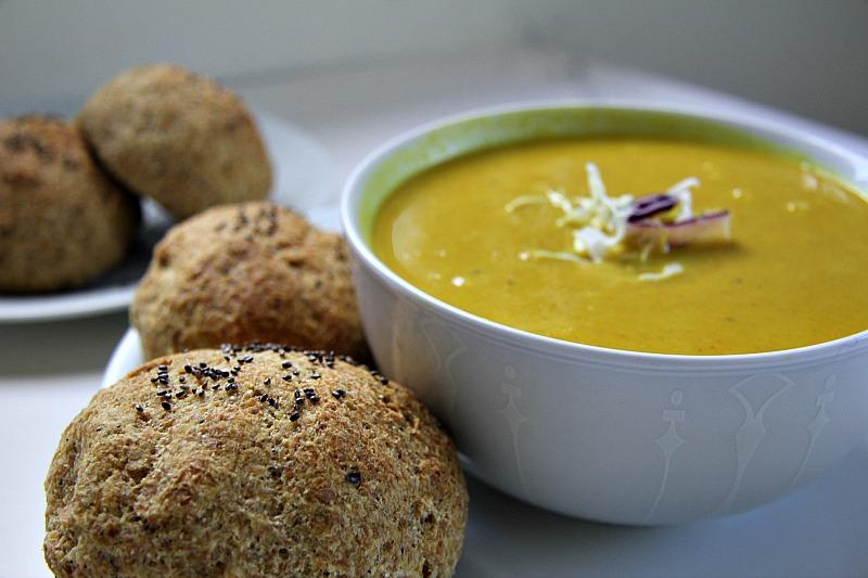 Cabbage-turmeric-soup
