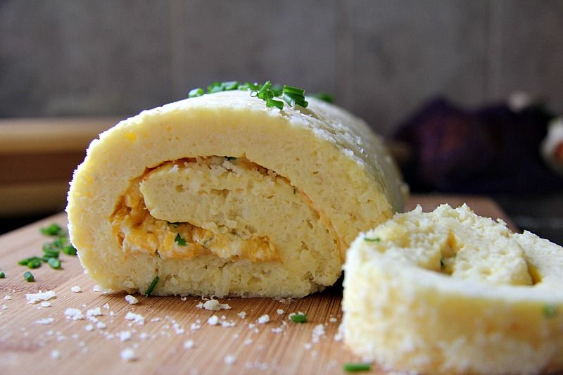 cauliflower cheese roulade
