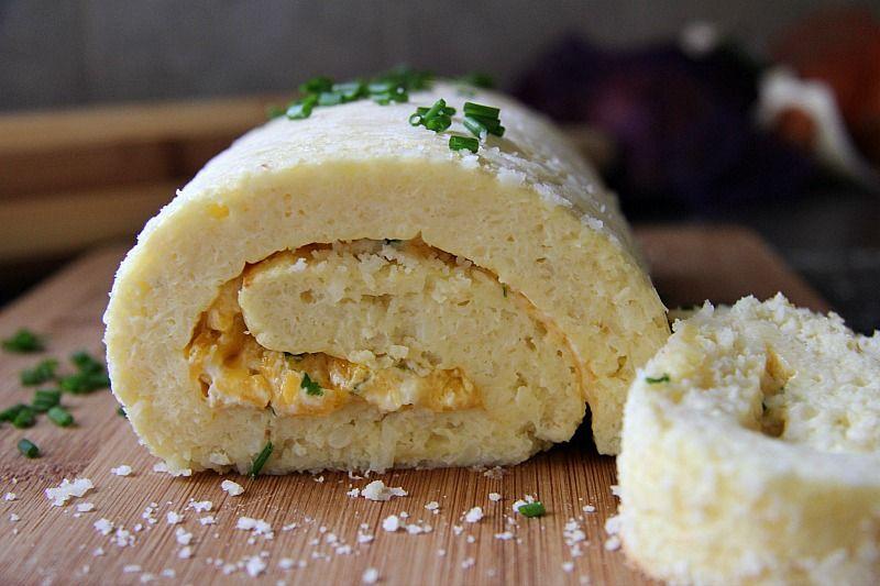 cauliflower cheese roulade