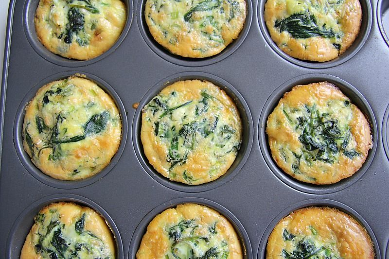 spinach feta quiche
