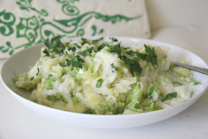 cauliflower colcannon