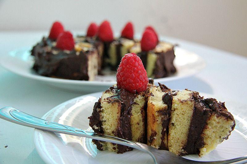 Basil Sponge Cake Recipe