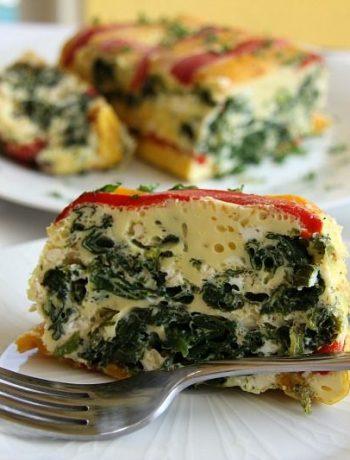 vegetable egg loaf