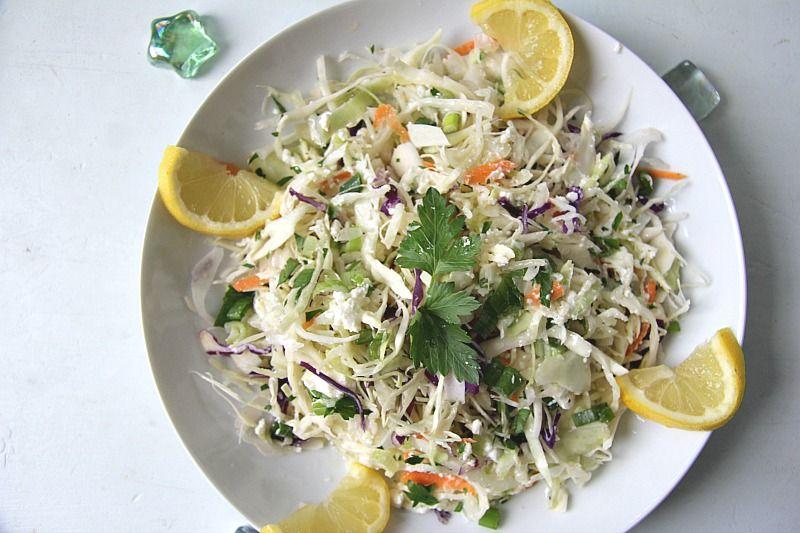 feta coleslaw