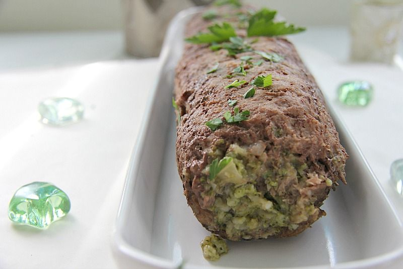 turkey broccoli roulade