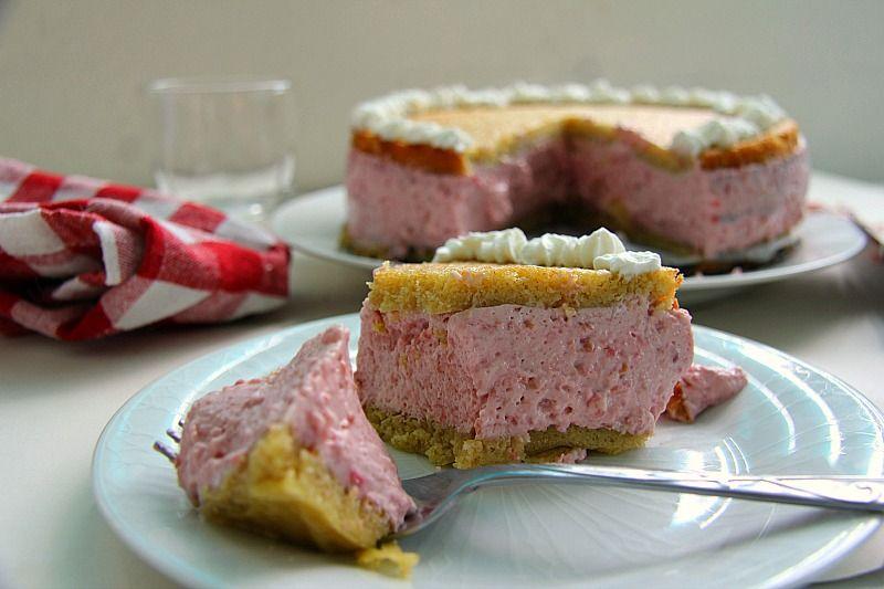 raspberry mousse