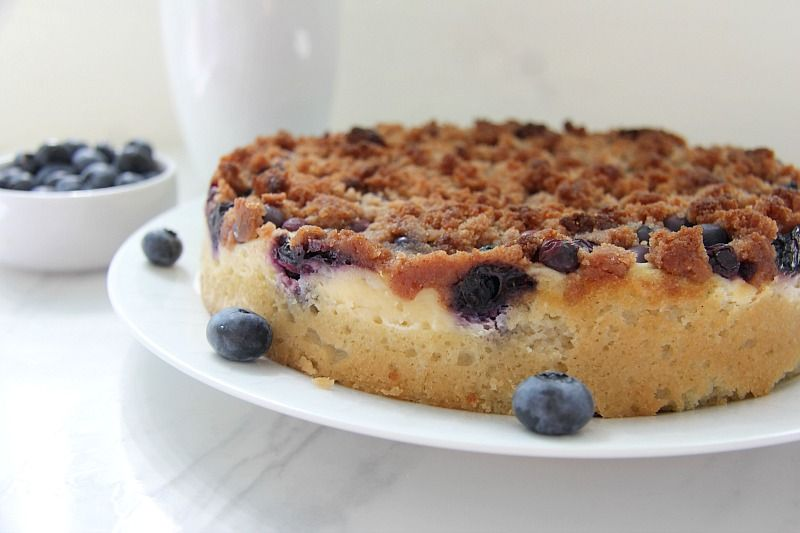 blueberry cheesecake crumble