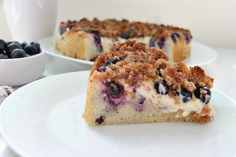 How To Make A Blueberry Cake Without Baking Powder