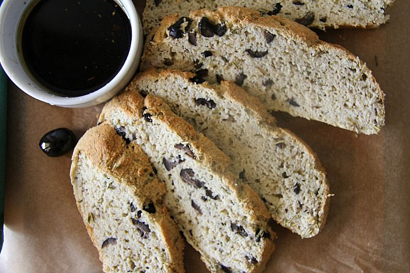 Rosemary Olive Low Carb Bread - Divalicious Recipes