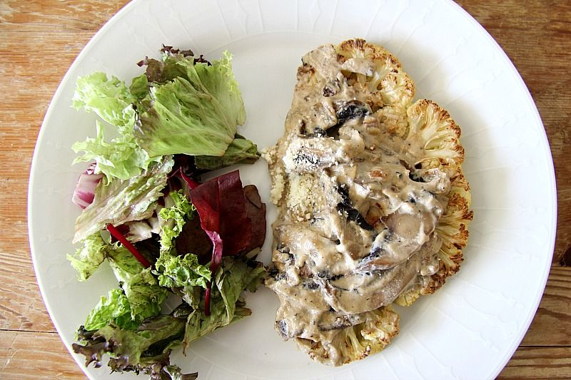 cauliflower steak