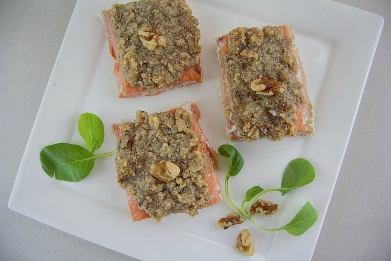 walnut salmon