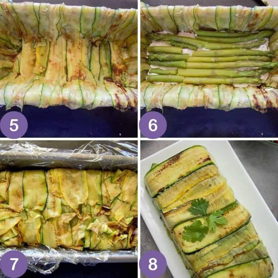 vegetable terrine process