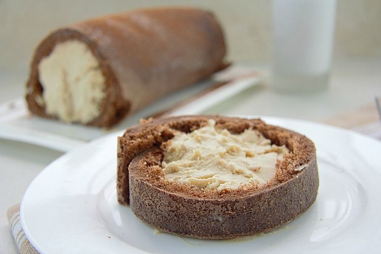 peanut butter roulade