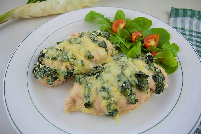 Spinach Ricotta Hasselback Chicken Divalicious Recipes