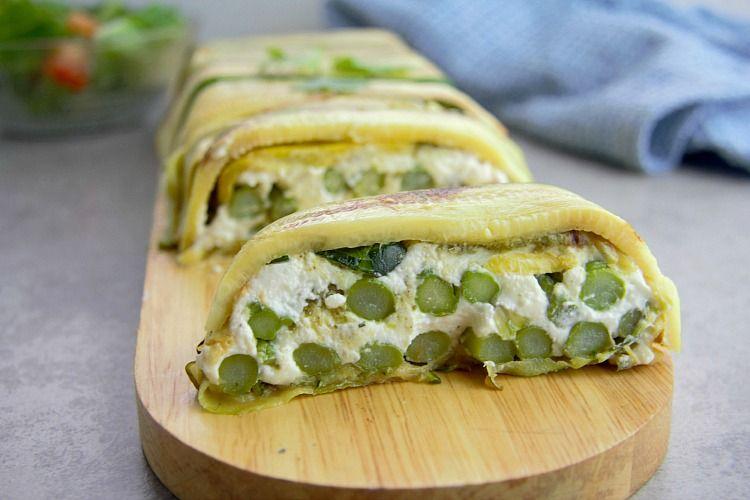 slice vegetable terrine