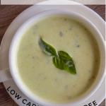 celery basil soup