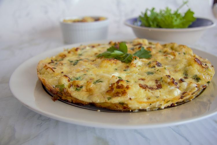 cauliflower frittata