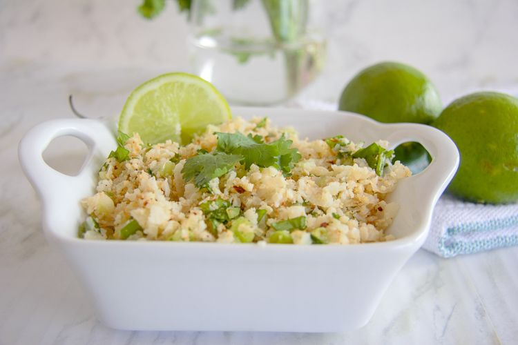 quick cauliflower rice