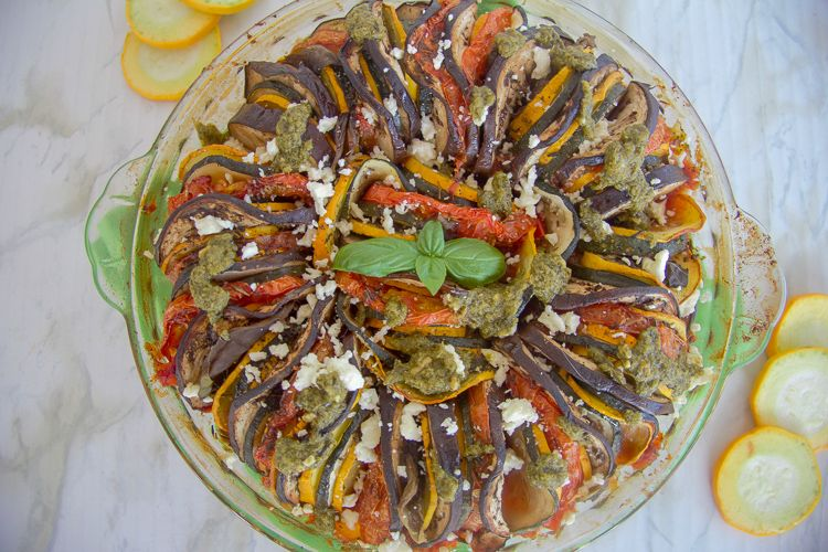 baked easy ratatouille