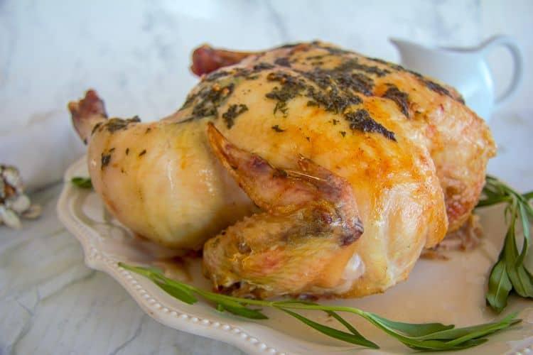 tarragon roasted chicken