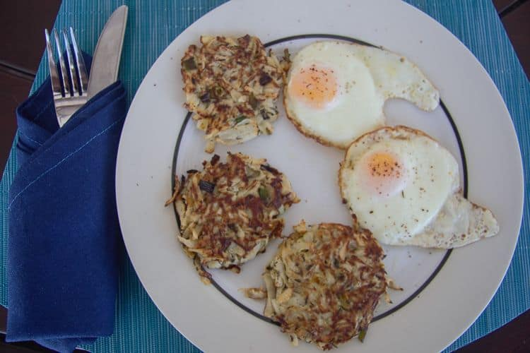 turnip hash browns