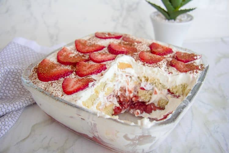 strawberry tiramisu low carb