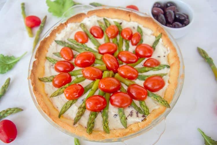 tomato asparagus tart