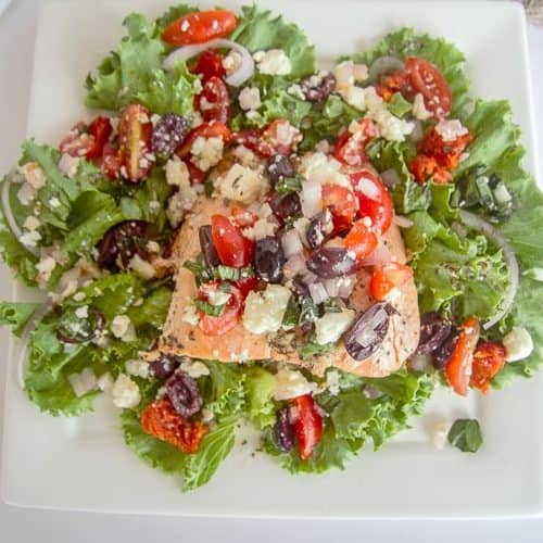 baked greek salad