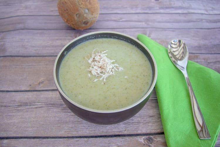 broccoli coconut milk soup