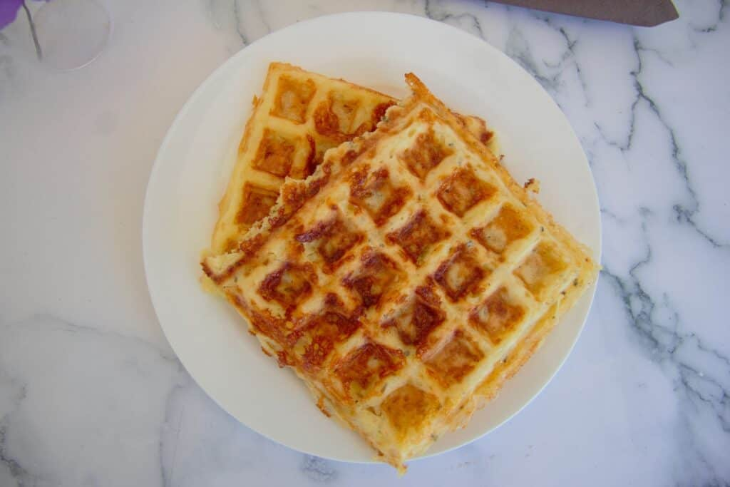 low carb chaffle