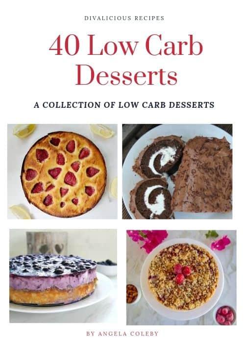 40 keto desserts