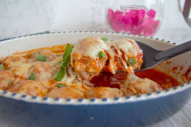 chicken meatball casserole