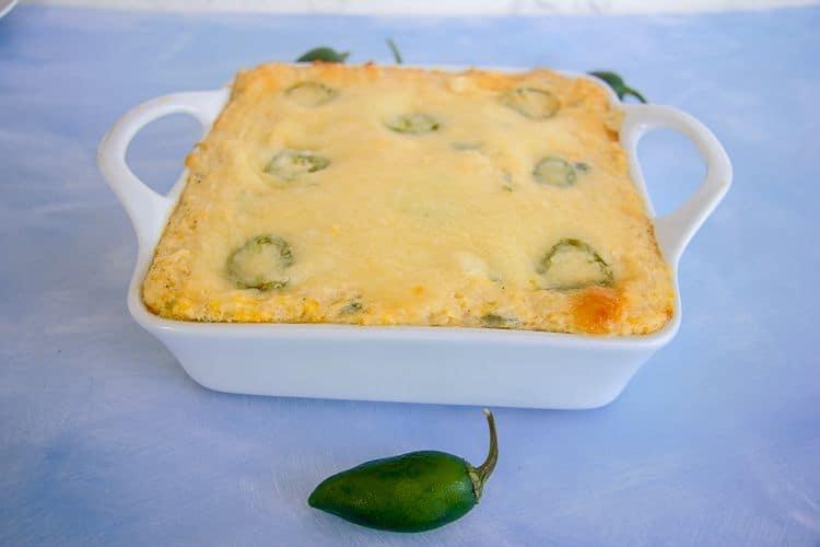 cauliflower jalapeno popper casserole