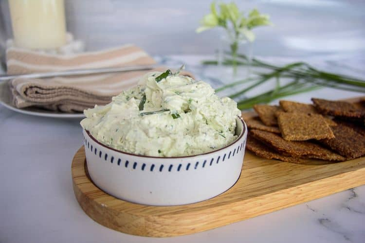 homemade boursin cheese spread