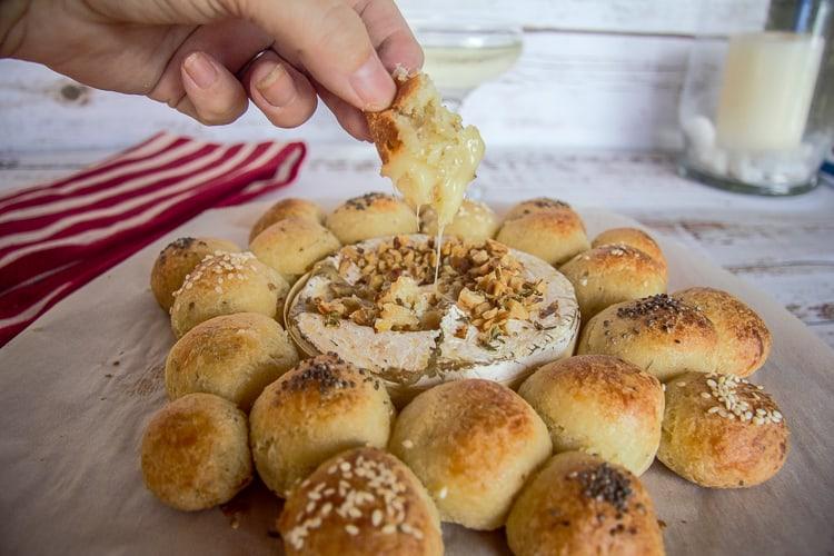 keto baked camembert