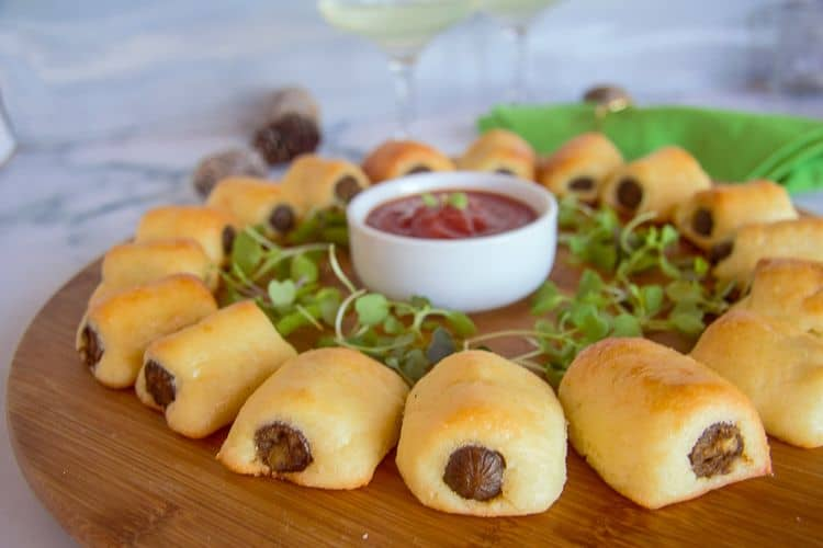 fathead dough pigs in blanket
