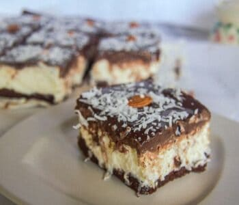no bake almond joy cheesecake