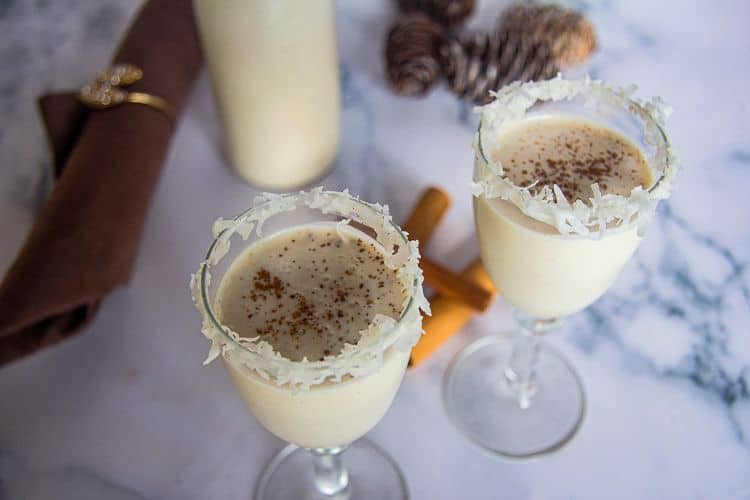 low carb coquito
