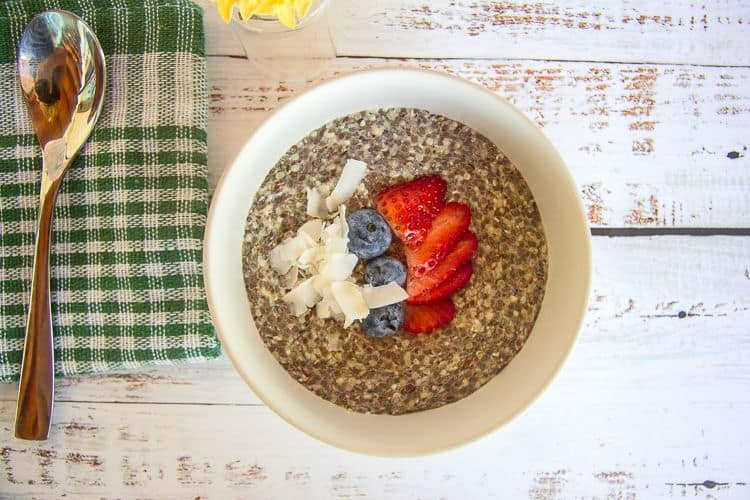 easy hemp seed porridge