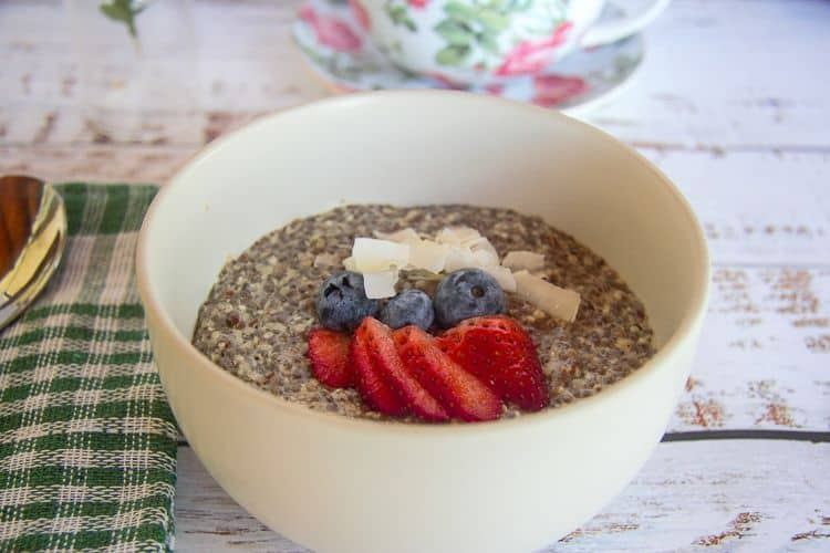 hemp seed oatmeal