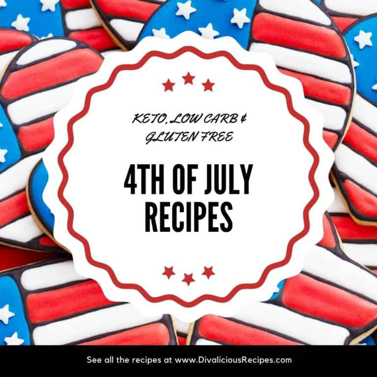 4th July recipes low carb