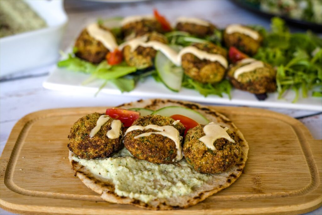 cauliflower falafel