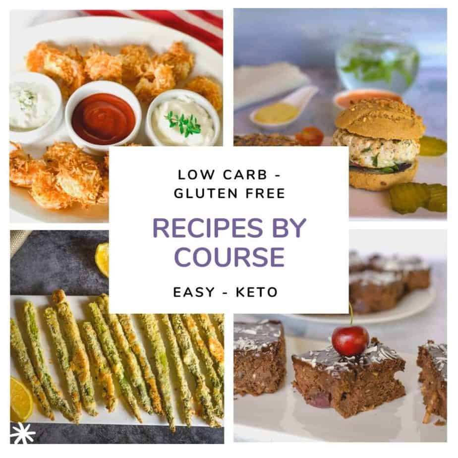 recipes by course