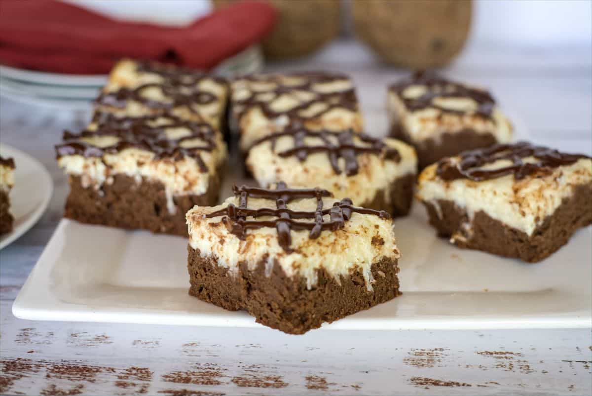 coconut cheesecake brownie