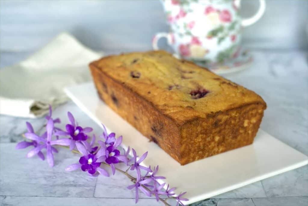 blackberry pound cake